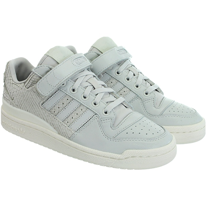f47670064397 ... Adidas Forum Lo women s low-top sneakers sneakers sneakers gray white  casual trainers leather NEW ...