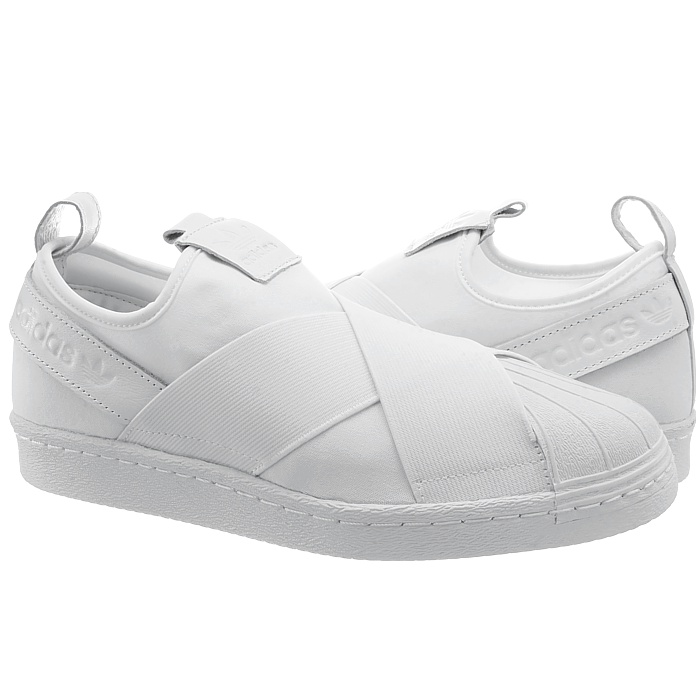 adidas superstar slipon blancs hommes est faible haut baskets noirs ou blancs slipon souliers new 61f7de