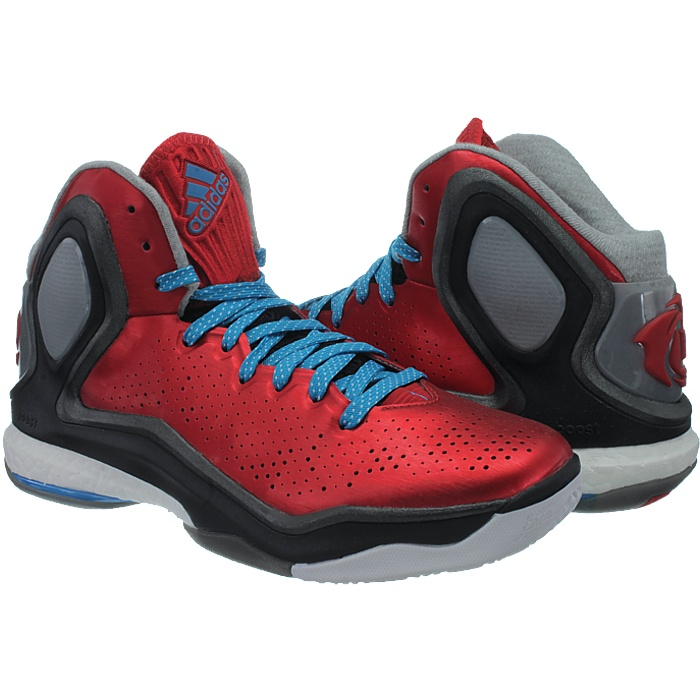 super popular 8da7d 5ff73 adidas D Rose 5 Boost Chicago Bulls Red Black Mens Basketball Shoes C75593  UK 7. About this product. Picture 1 of 5 Picture 2 of 5 Picture 3 of 5 ...