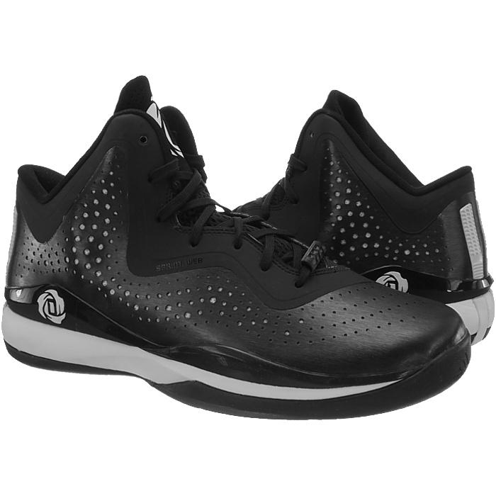 Adidas-D-Rose-773-III-Herren-Basketballschuhe-schwarz-weiss-Basketballstiefel-NEU