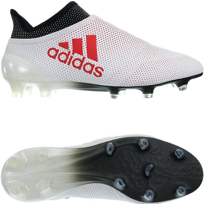 Adidas X17+ PureSpeed FG weiß oder Gold Herren Nocken Profi-Fußballschuhe NEU Weiß