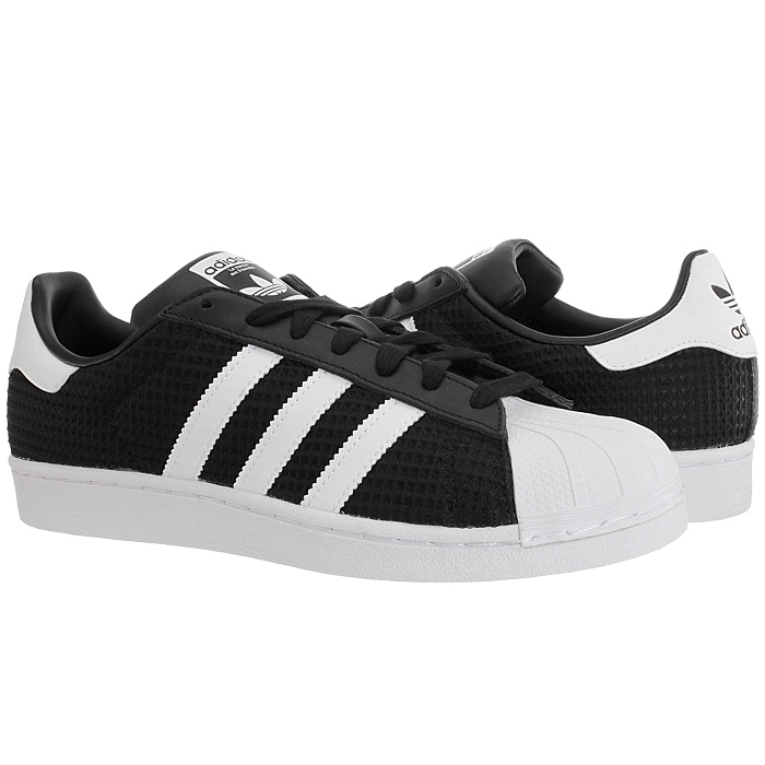 adidas superstar herren low top sneakers textil leder. Black Bedroom Furniture Sets. Home Design Ideas