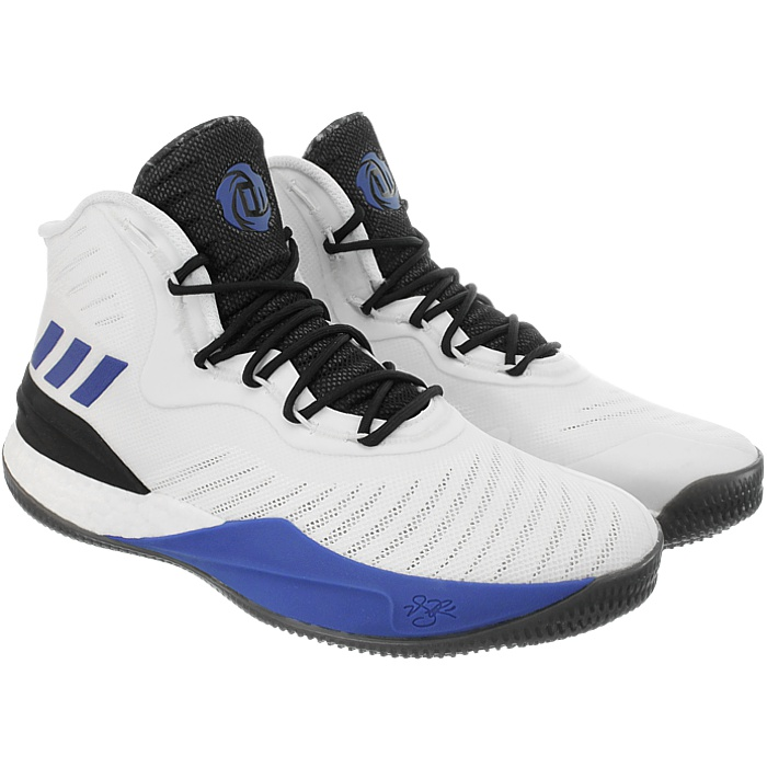 Adidas D Rose 8 men s basketball shoes boots blue white black air ... c40331bf3
