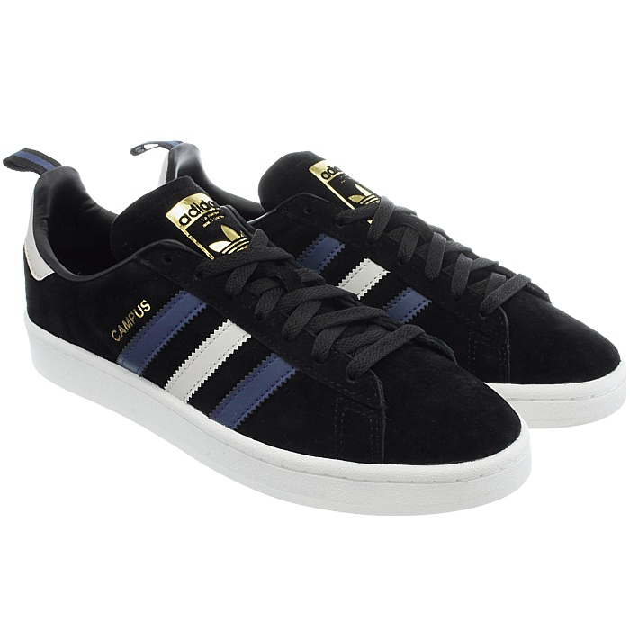 Adidas campus uomini sopra le scarpe scarpe le di pelle scarpe casual basso formatori nuova 7bfe64