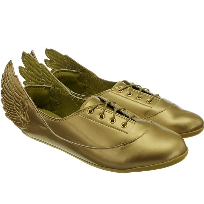 Adidas Metallic Js Wings Easy Five Gold Mi Women's Shoes (trainers) In Gold Lyst