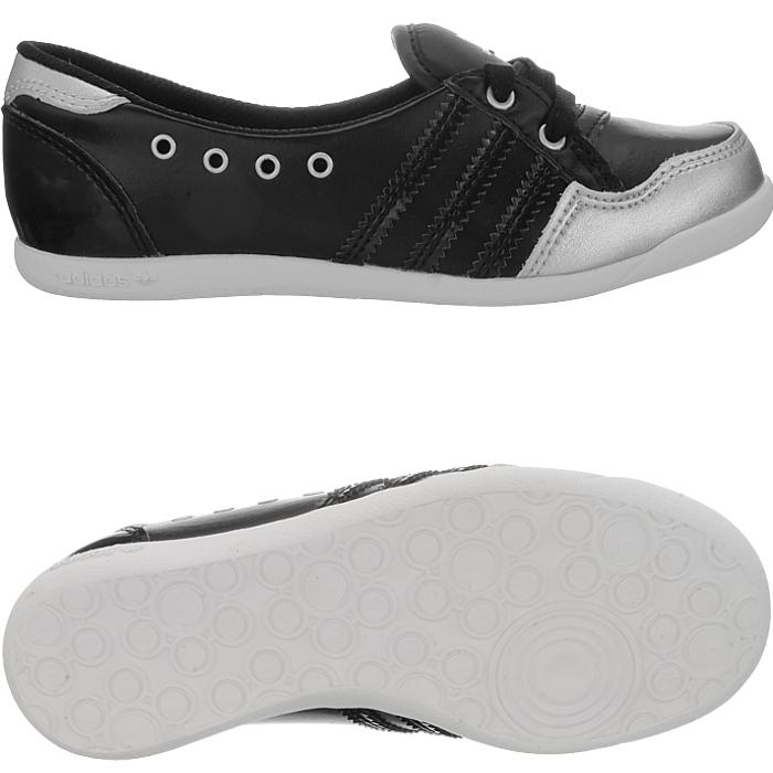 adidas Originals Girls Ballet PUMPS Forum SLIPPER Kids Shoes Sizes ... eb67ecef1e