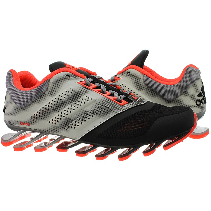 premium selection 65a36 3905f Details about Adidas Springblade Drive 2 black red Men's Jogging shoes  Running Fitness NEW