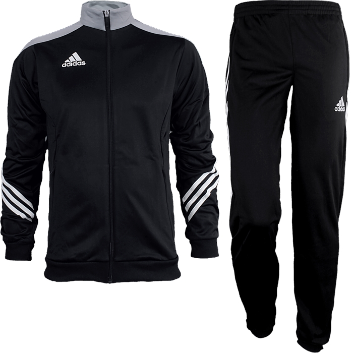 Adidas-Sereno-14-Kinder-Trainingsanzug-Sportanzug-Jogginganzug-in-5-Farben-NEU Indexbild 14