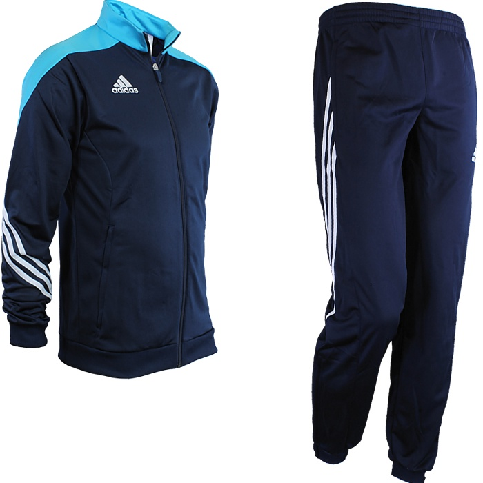 Adidas-Sereno-14-Kinder-Trainingsanzug-Sportanzug-Jogginganzug-in-5-Farben-NEU Indexbild 3
