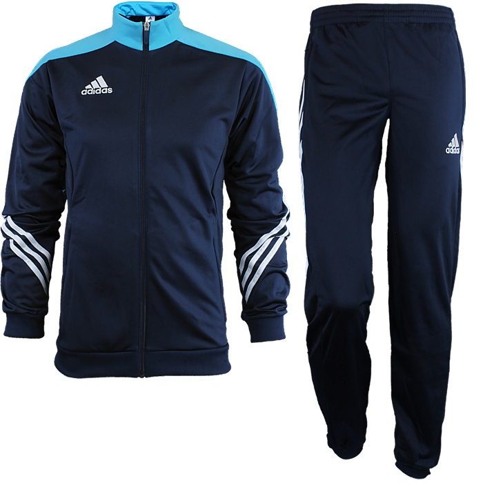adidas Hooded Track Suit Blue | adidas Finland