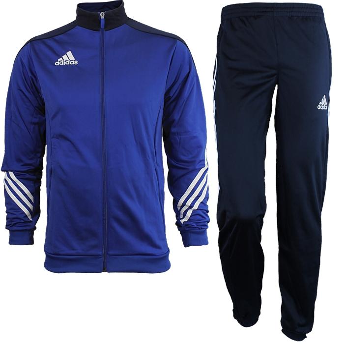 adidas Sereno 14 Trainingsanzug für Herren Blau, L (F49711)