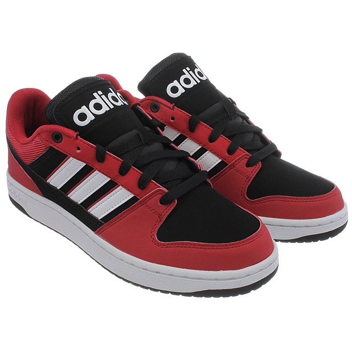 Adidas NEO Dineties Lo black red white Kid s Skater shoes Sneakers ... 13f4e6ad9