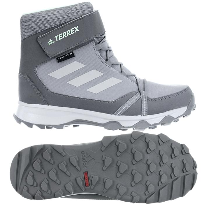 Adidas Terrex Snow CF CP CW K grey Kid
