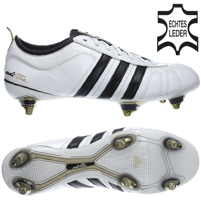 Details zu Adidas ADIPURE IV 4 TRX SG weiß Fußballschuhe 39 40 41 42 43 44  45 46 47 48 NEU
