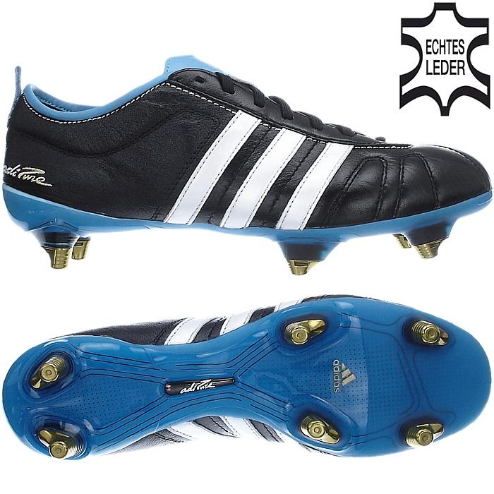 Adidas ADIPURE IV 4 SG weiß blau schwarz Stollen