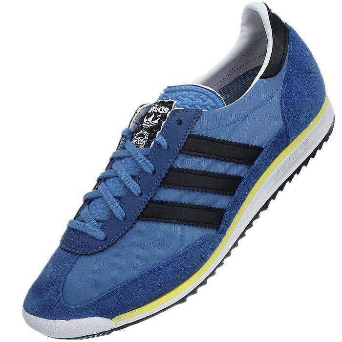 ADIDAS SL 72 Herren Sneakers blauschwarzgelb Freizeitschuhe Gr.36