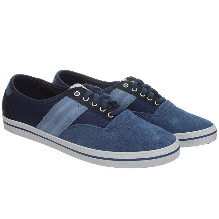 Details zu Adidas Aanee Damen Sneakers Blau Freizeitschuhe Wildleder NEU Gr.37 13