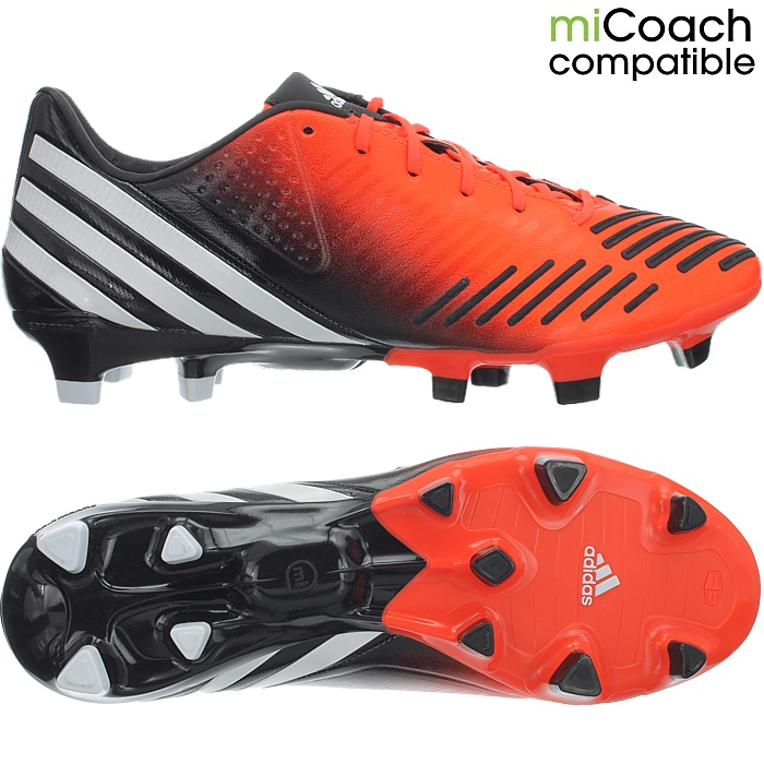 bcb364c4bc57 Adidas Predator LZ TRX FG men s professional soccer cleats orange ...