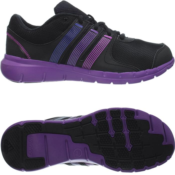 Details zu Adidas Damen Laufschuhe A.T. 120 schwarz lila Fitnessschuhe Running Sport NEU