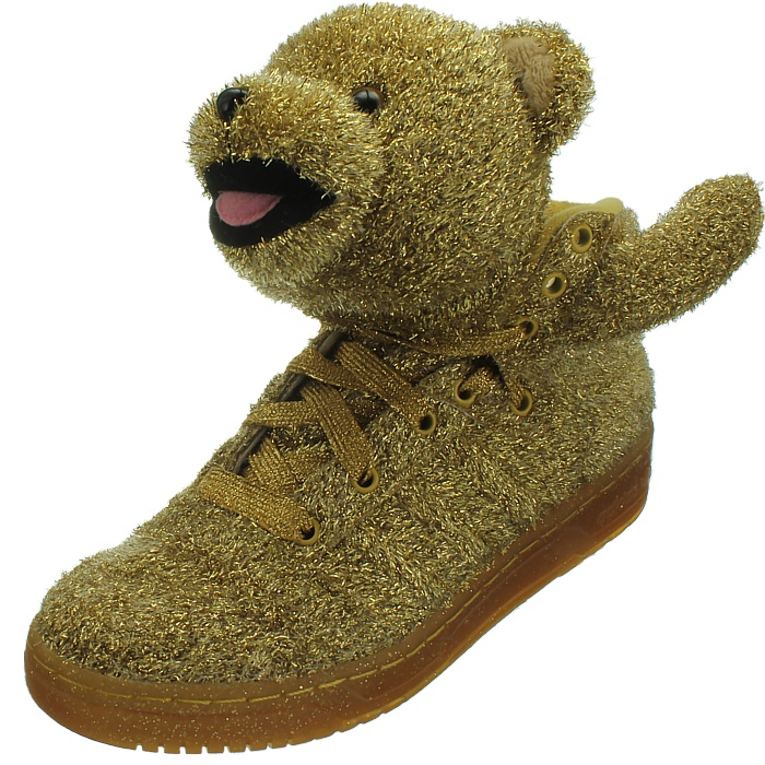 Scott Bear With Gold Glitter Jeremy Shoes By Js New Head About Details Adidas Men's 8kP0nwO