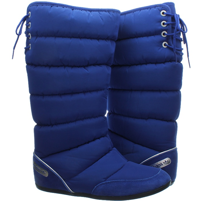 thumbnail 3 - Adidas Women's Winterboots blue beige Northern Ladies Snowboots New
