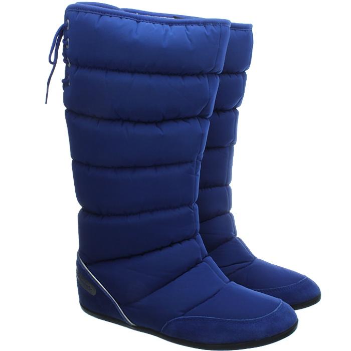 thumbnail 4 - Adidas Women's Winterboots blue beige Northern Ladies Snowboots New