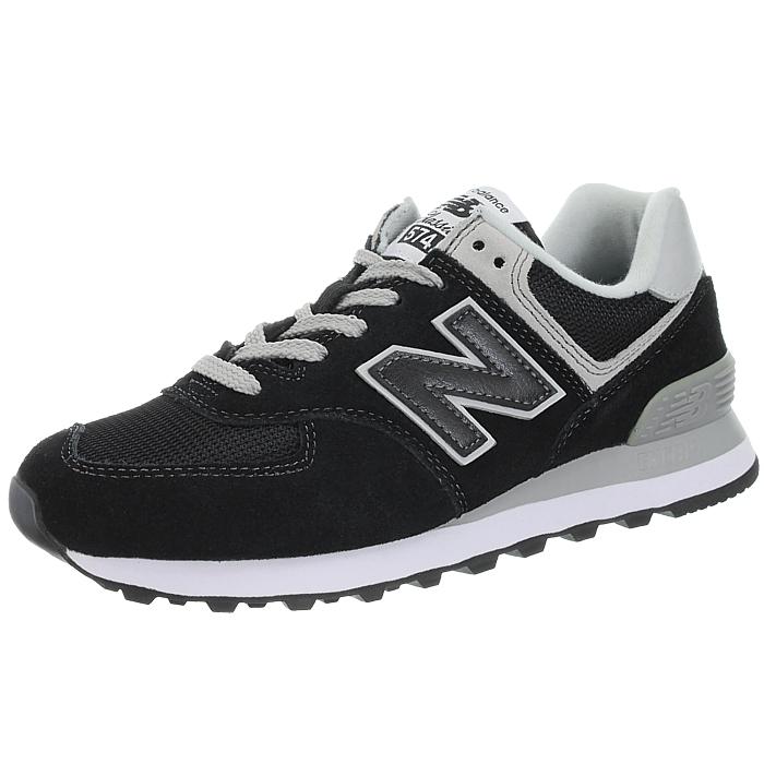 New-Balance-wl574-Femmes-Low-top-Baskets-5-Couleurs-Daim-Chaussures-Loisirs-Neuf miniature 21