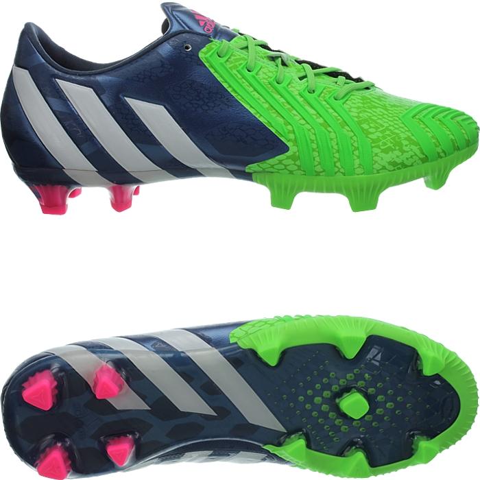cc41b792d8f1 Adidas Predator Instinct FG men's soccer cleats blue/white/green FG ...