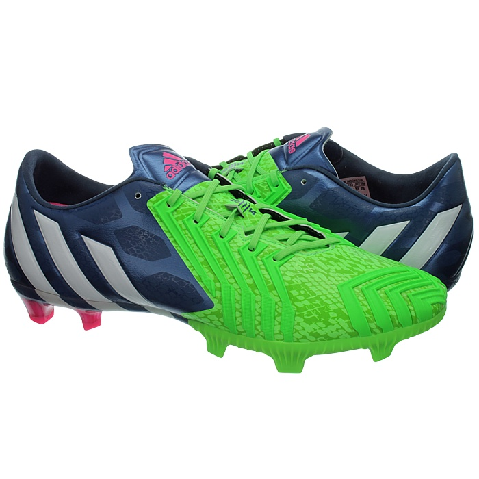 2fcbda871f1f adidas Football BOOTS Predator Instinct FG Mens Cleats - Blue and Green  M17644 Multi UK 8. About this product. Picture 1 of 5  Picture 2 of 5   Picture 3 of ...