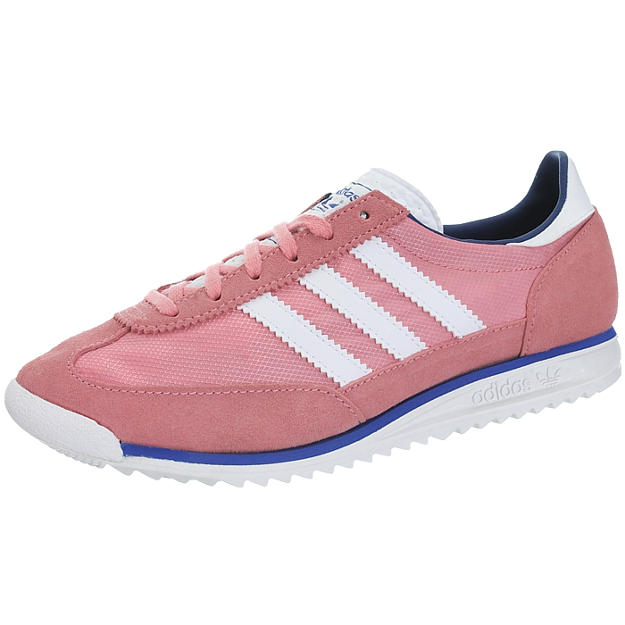 Details about Adidas SL72 SL 72 pink womens low top sneakers suede casual shoes trainers NEW