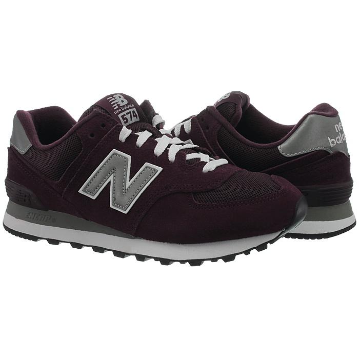 New-Balance-m574-Core-Messieurs-Low-top-Baskets-De-Loisirs-Chaussures-Daim-Neuf miniature 7