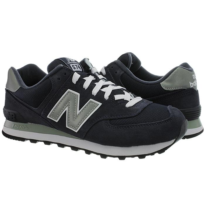 New-Balance-m574-Core-Messieurs-Low-top-Baskets-De-Loisirs-Chaussures-Daim-Neuf miniature 11