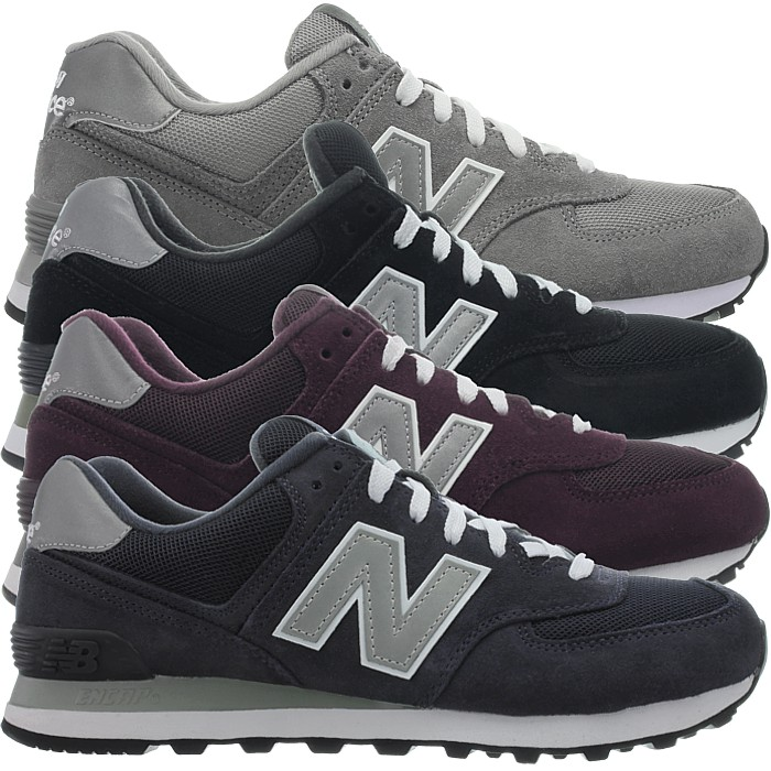 Ubrugte New Balance M574 Core men's low-top sneakers suede casual shoes 3 OS-65