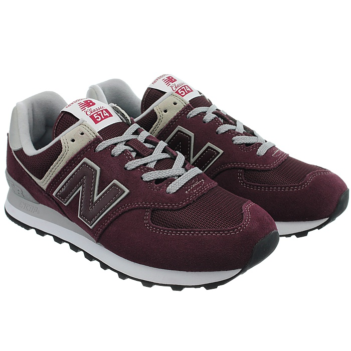 New-Balance-ml574-Classic-574-Hommes-Daim-Low-top-Baskets-RARE-NEUF miniature 44