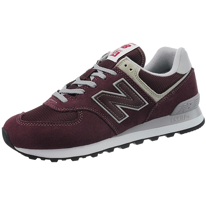Details about NEW Balance ml574 Mens Low-Top Sneakers Red Beige Blue Black  Suede NEW- show original title