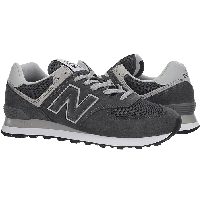 New-Balance-ml574-Classic-574-Hommes-Daim-Low-top-Baskets-RARE-NEUF miniature 3