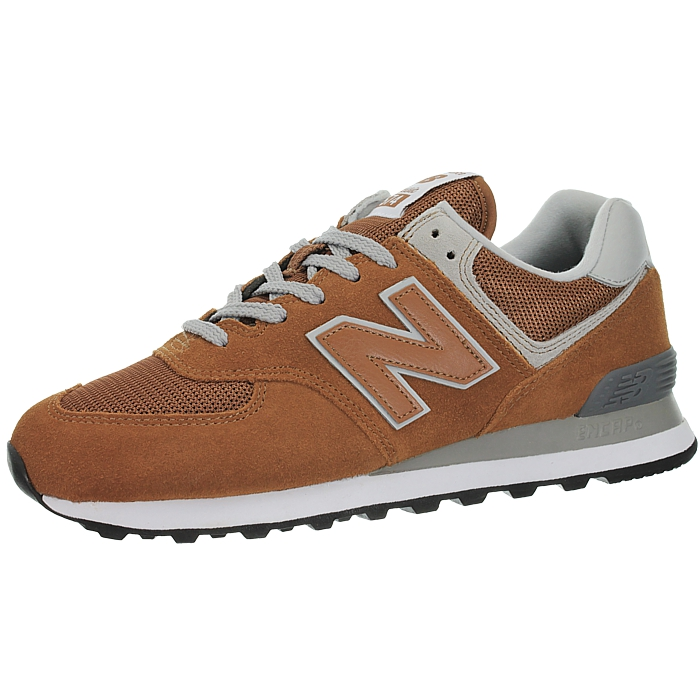 New-Balance-ml574-Classic-574-Hommes-Daim-Low-top-Baskets-RARE-NEUF miniature 21