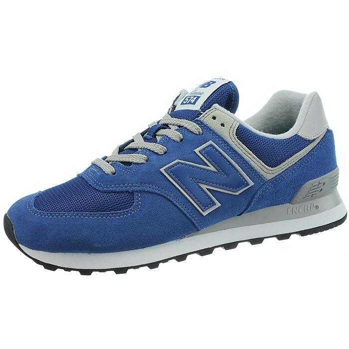 New Balance ML574 Herren low-top Sneakers rot beige blau schwarz Wildleder NEU