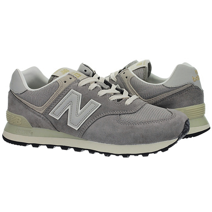 New-Balance-ml574-Classic-574-Hommes-Daim-Low-top-Baskets-RARE-NEUF miniature 7
