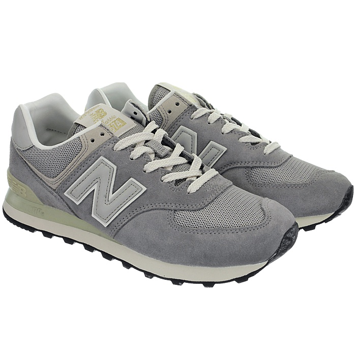 New-Balance-ml574-Classic-574-Hommes-Daim-Low-top-Baskets-RARE-NEUF miniature 8