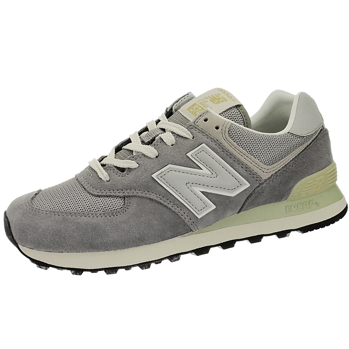 New-Balance-ml574-Classic-574-Hommes-Daim-Low-top-Baskets-RARE-NEUF miniature 9