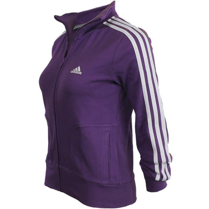 Details about Adidas Essentials 3S women's tracktop sports jacket 5 colors  NEW