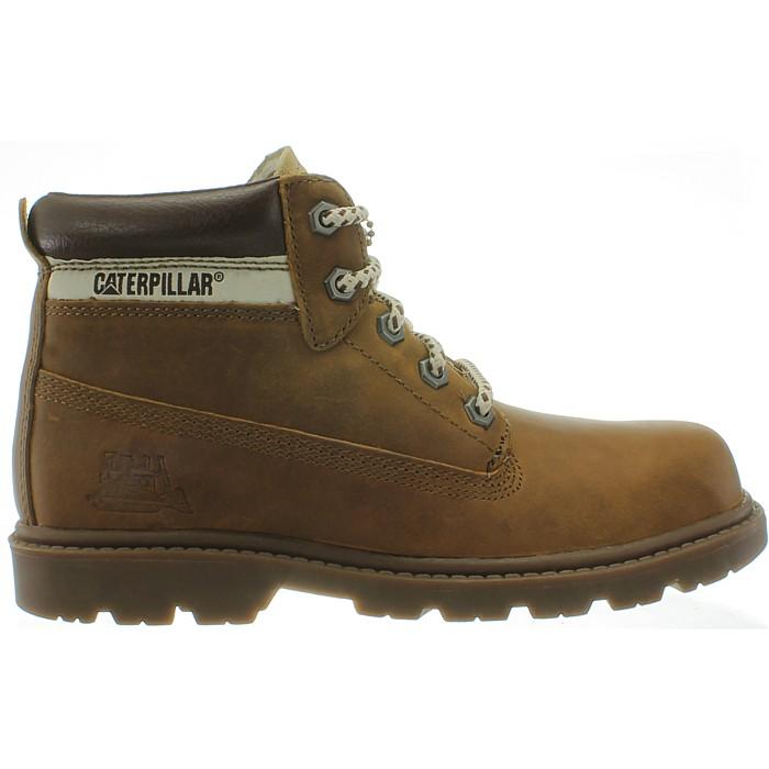 Caterpillar Colorado beige   braun Kinder   Damen 6inch Leder Boots ... 6d16a927a9
