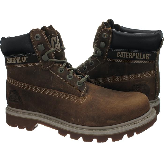 Caterpillar-Colorado-Noir-Marron-Beige-Messieurs-Cuir-Boots-Bottes-6-Couleurs-Neuf miniature 23