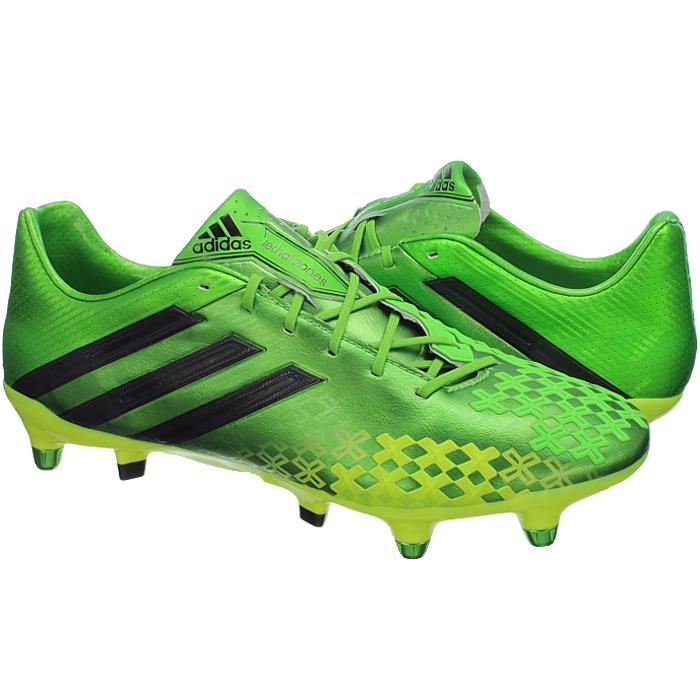 Details about Adidas Predator LZ XTRX SG professional men's soccer cleats greenyellow