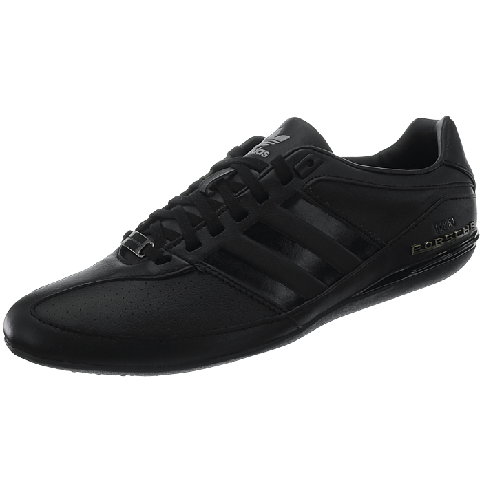finest selection 31aba 39bc3 Details about Adidas Porsche Typ 64 men s low-top sneakers black or brown casual  shoes NEW