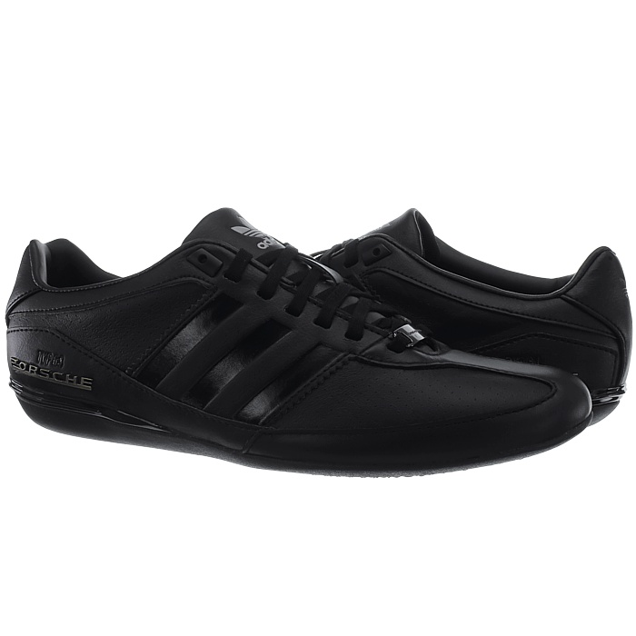 26743eca575 Adidas Porsche Typ 64 men s low-top sneakers black or brown casual ...