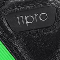 Detalles de Adidas Adipure 11pro xtrx sg negro verde señores cuero botas de fútbol nuevo embalaje original ver título original