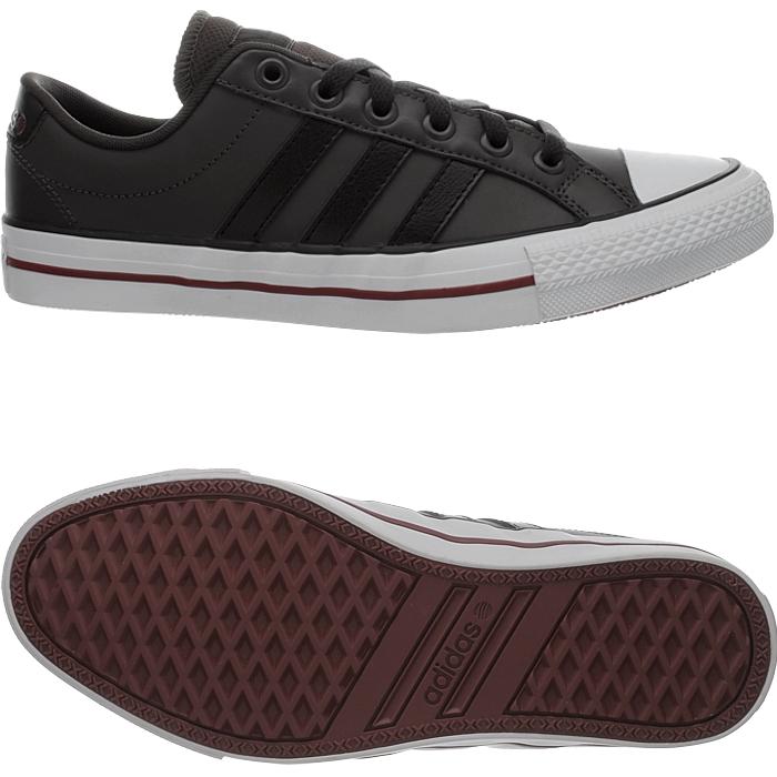 Details zu Adidas VLNEO 3 Stripes Lo Sneaker Sport Freizeit Schuhe Schwarz Neu