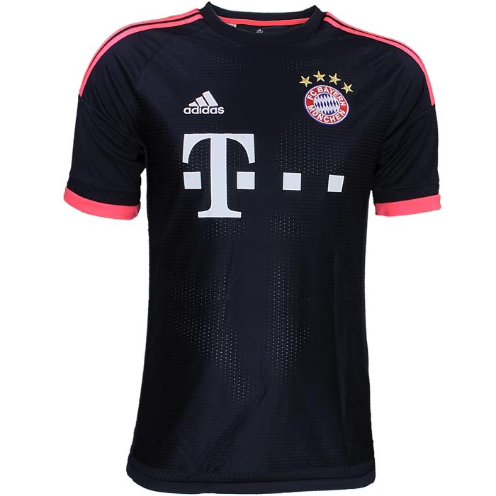 Adidas FC Bayern UCL Trikot Jungen Fan-Trikot blau/rot Fußballtrikot ...
